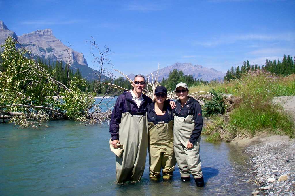 Fishing Banff Bow River